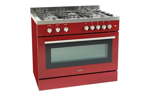 Piano de cuisson sauter scm690 rouge scm690r 2861909 - Piano cuisine sauter ...