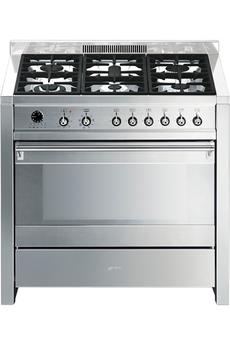 Piano de cuisson OPERA A1-7 INOX Smeg