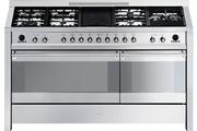 Piano de cuisson Smeg ELITE A5-8 INOX