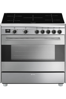 Piano de cuisson Smeg 90CM INDUCTION INOX - BG91IX9-1
