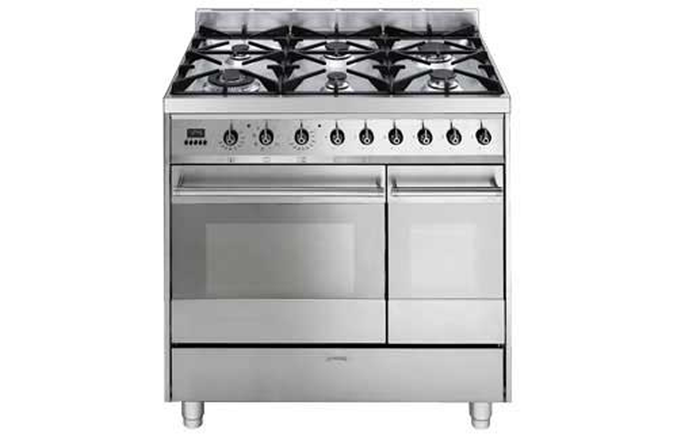 Piano de cuisson smeg c92gmx8 inox 3440508 darty for Piano de cuisine smeg