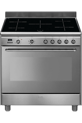 Piano de cuisson Smeg ESTHETIQUE CLASSICA 90cm INDUCTION INOX - CG90IX9