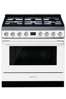 Piano de cuisson Smeg PORTOFINO 90cm MIXTE BLANC - CPF9GMWH