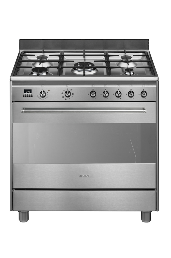 Piano de cuisson smeg scb91mcx9 inox 4149580 darty for Piano de cuisine smeg