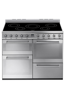Piano de cuisson Smeg ESTHETIQUE CARREE 110 INDUCTION INOX - SYD4110I