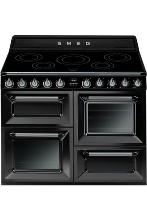 Piano De Cuisson Smeg Victoria 110cm Induction Noir Tr4110ibl