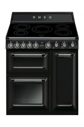 Piano de cuisson Smeg VICTORIA 90cm INDUCTION NOIR - TR93IBL
