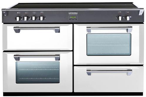 largeur 110 cm 4 fours 5 foyers induction Touches sensitives