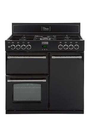 Piano de cuisson stoves gourmet 90 dft noir - Acheter piano de cuisson ...