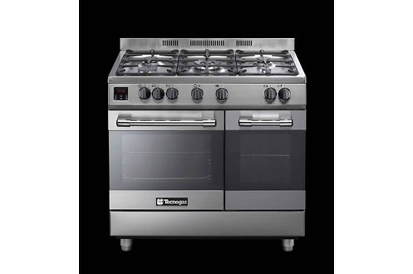 Piano de cuisson tecnogas tec9061dfx inox 3771083 darty - Piano de cuisson inox ...