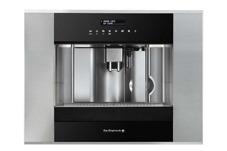 machine caf encastrable de dietrich ded1140x noir inox. Black Bedroom Furniture Sets. Home Design Ideas