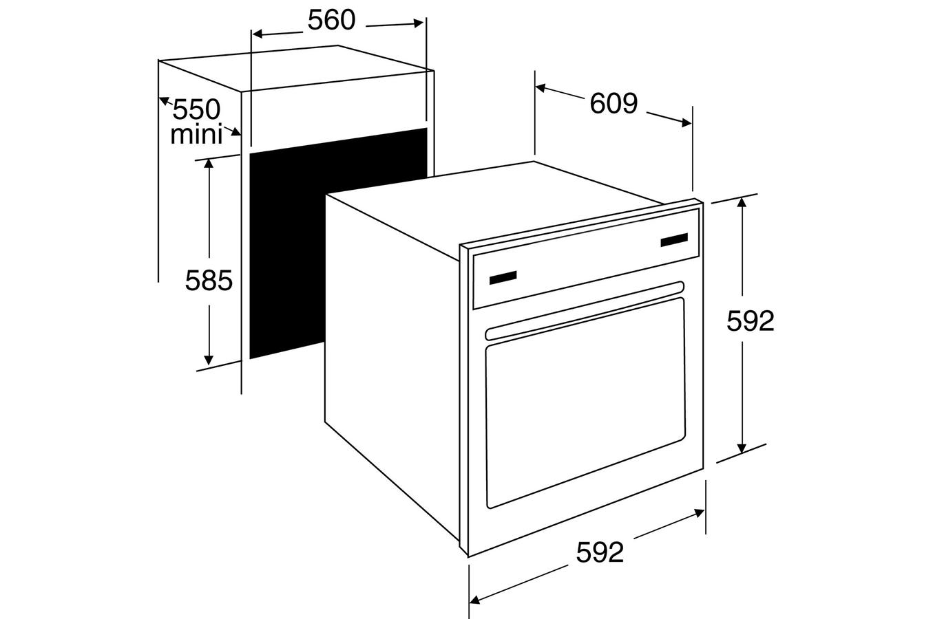 four encastrable brandt fp1552w 4144767 darty. Black Bedroom Furniture Sets. Home Design Ideas