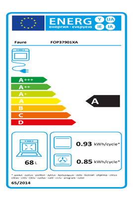 Four encastrable Faure FOP37901XA INOX