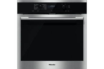 Four encastrable H 6165 BP IN INOX Miele