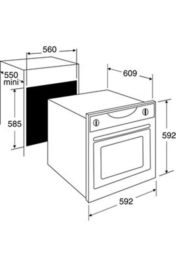 four encastrable sauter sfp930x 3113140 darty. Black Bedroom Furniture Sets. Home Design Ideas