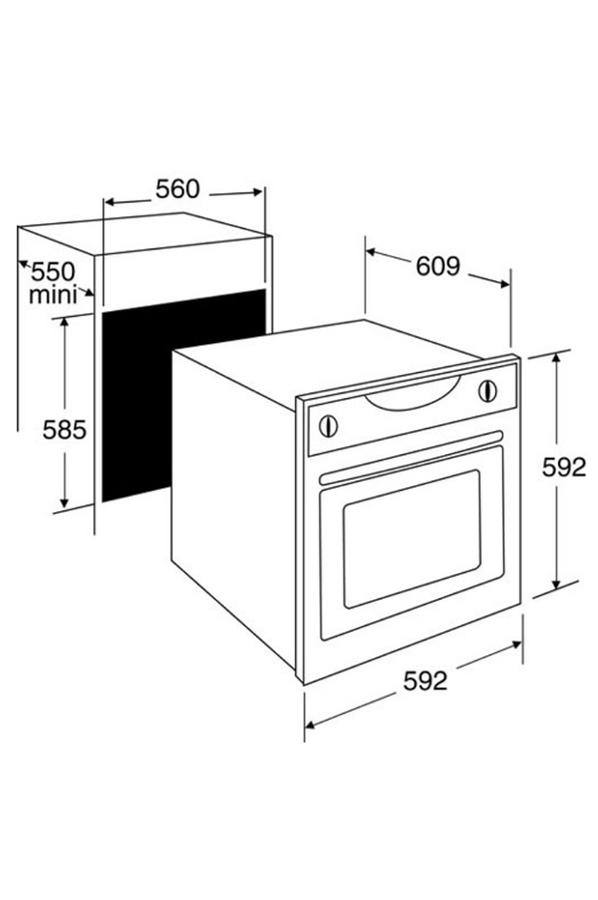 four encastrable sauter sfp 930 b noir 3143996 darty. Black Bedroom Furniture Sets. Home Design Ideas