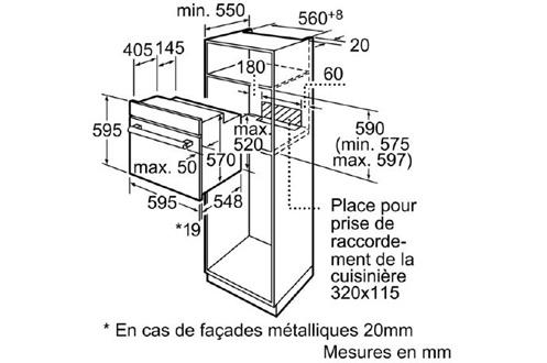 Siemens HB43AB522F INOX