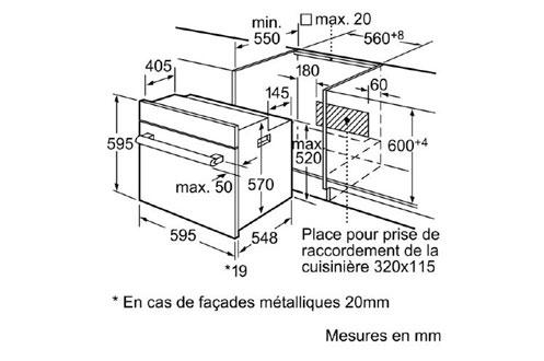Siemens HB75GR260F BLANC