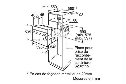 Siemens HB78GU570F INOX
