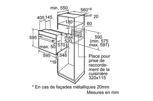 Siemens HB 43 AB 520 F INOX