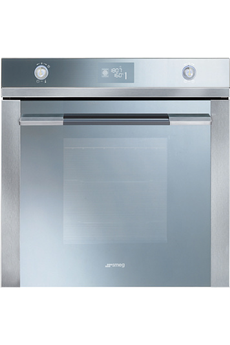 Four encastrable SFP125E INOX VERRE Smeg