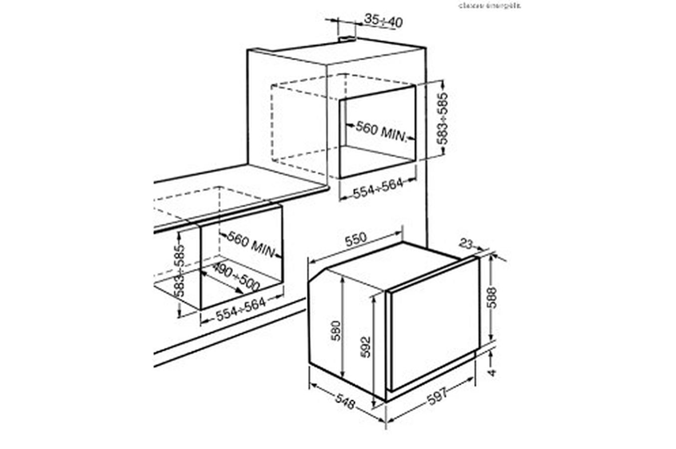 four smeg encastrable id es de. Black Bedroom Furniture Sets. Home Design Ideas