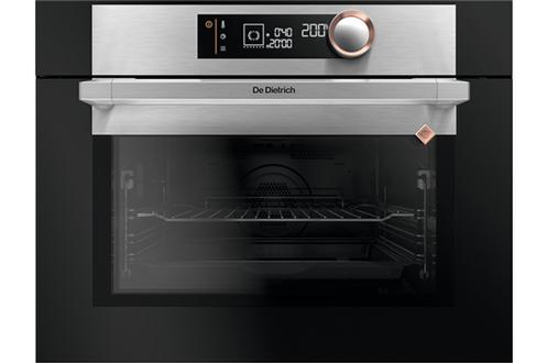 """Four multifonction """"chaleur tournante"""" Nettoyage pyrolyse - Porte froide 9 modes de cuisson - Maintien au chaud - Chaleur combinée Smart Assist - Hauteur niche : 45 cm"""