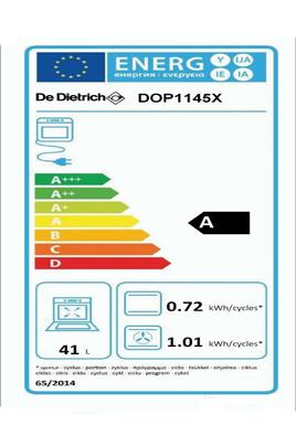 Four autres dimensions DOP 1145X INOX CORIUM De Dietrich