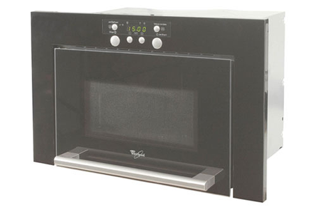 micro ondes encastrable whirlpool amw 466 nb noir amw466nb darty. Black Bedroom Furniture Sets. Home Design Ideas