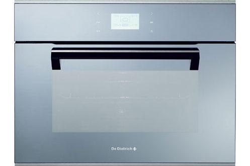 Micro ondes combin encastrable de dietrich dme 1145 m for Micro onde miroir
