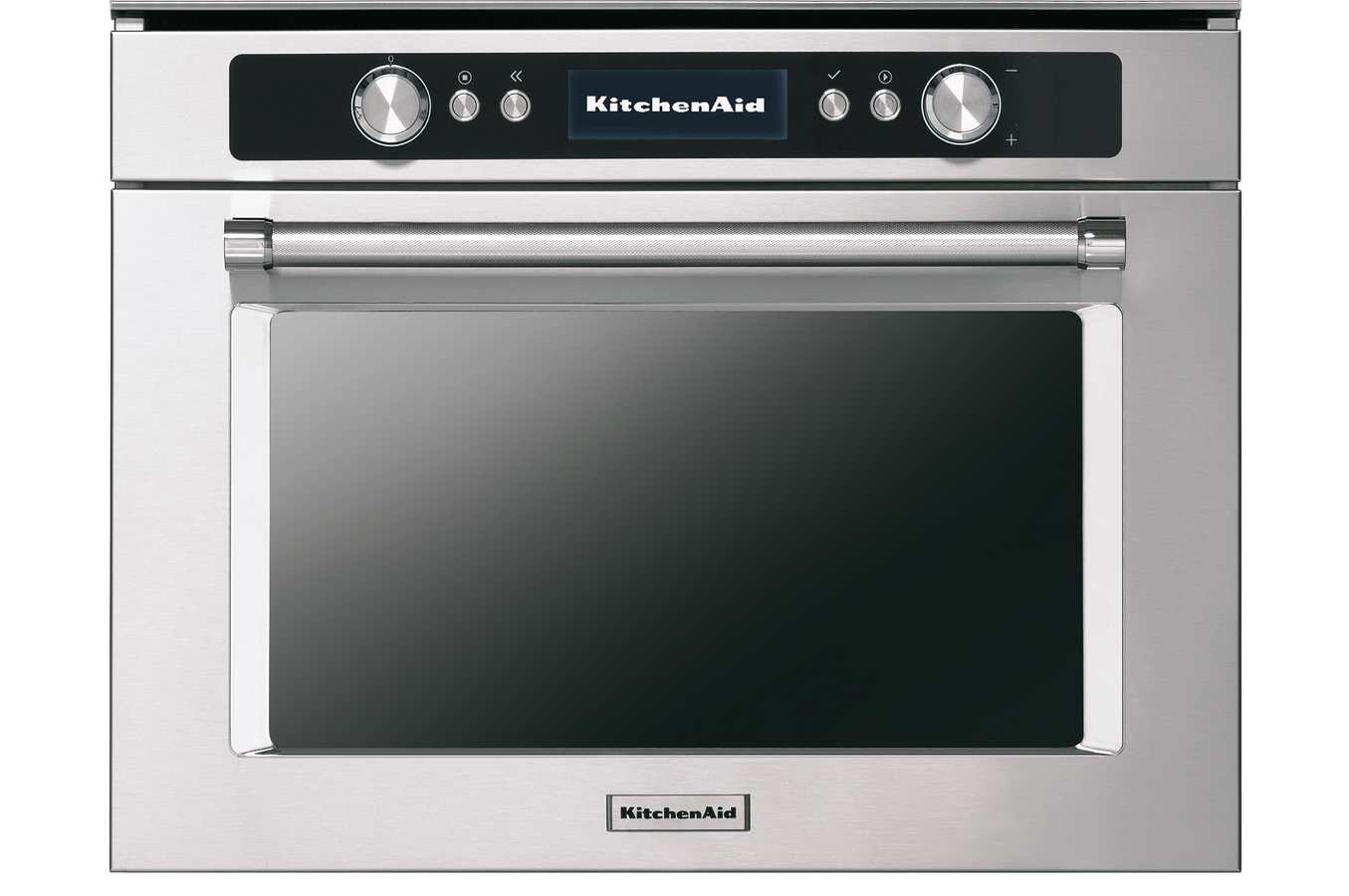 micro ondes combin encastrable kitchenaid kmqcx45600 inox. Black Bedroom Furniture Sets. Home Design Ideas
