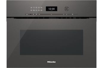 Micro ondes combiné encastrable H6401BMX Miele
