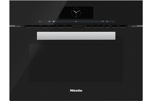 Micro ondes combiné encastrable Miele H6800BM NOIR