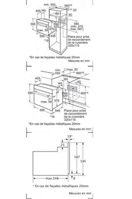 Bosch HBA73A560F NOIR