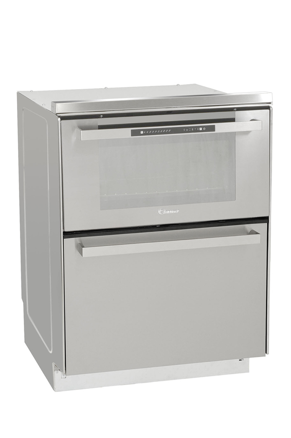 four encastrable duo 609 x inox 3089029 darty