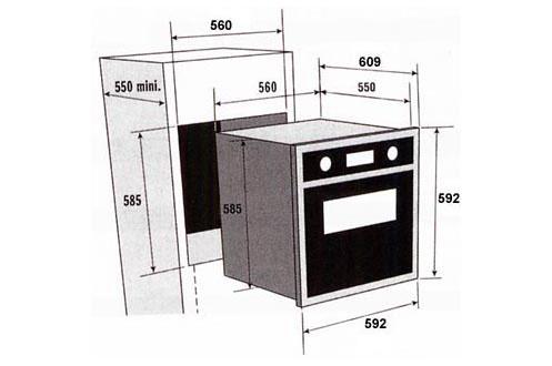 four encastrable sauter sfp 650 bf1 noir sfp650 2360322. Black Bedroom Furniture Sets. Home Design Ideas