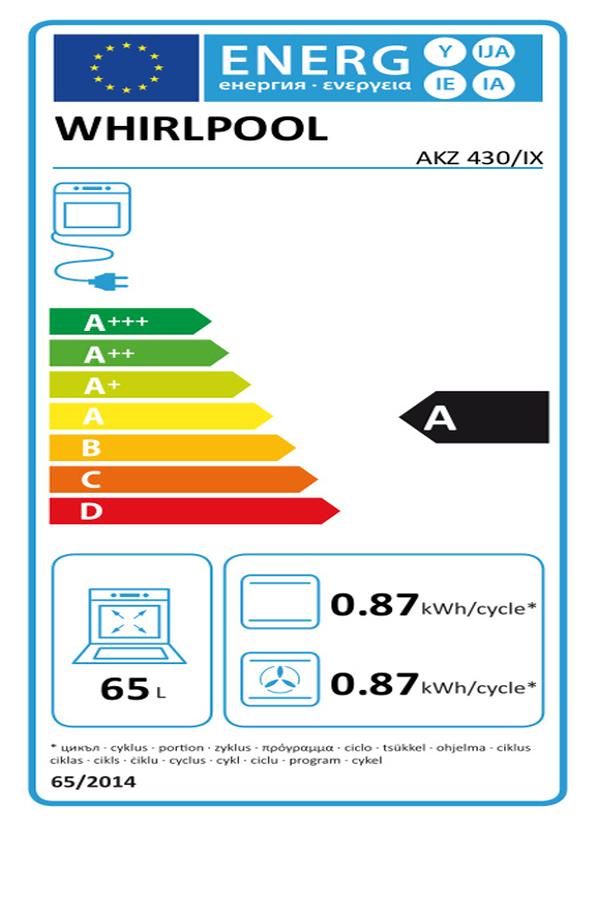 four encastrable whirlpool akz 430 ix inox - akz 430 ix (3363309