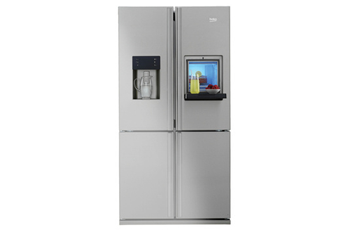 refrigerateur americain avec distributeur de glace pil e. Black Bedroom Furniture Sets. Home Design Ideas