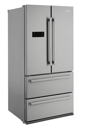 refrigerateur americain beko gne60520x darty. Black Bedroom Furniture Sets. Home Design Ideas