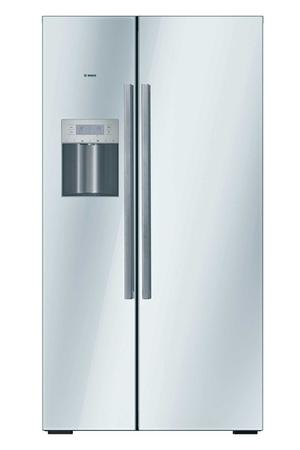 refrigerateur americain bosch kad62s21 glassline darty. Black Bedroom Furniture Sets. Home Design Ideas