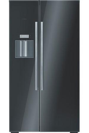 refrigerateur americain bosch kad 62s50 noir darty. Black Bedroom Furniture Sets. Home Design Ideas