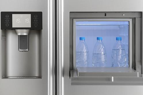 refrigerateur americain haier hfr 628af6 3683974. Black Bedroom Furniture Sets. Home Design Ideas