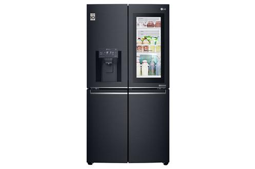 Volume 571 L Dimensions HxLxP : 179.7x91.1x75.9 cm - A+ Réfrigérateur à froid ventilé 371 L Congélateur à froid ventilé 200 L Home Bar Soft Touch