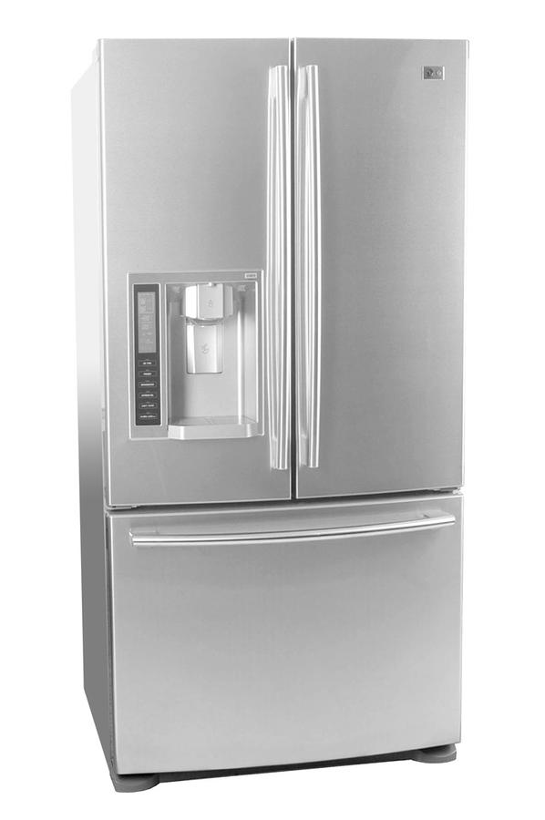 Refrigerateur americain lg gr l 219 acm inox gr l 219 - Refrigerateur americain 3 portes inox ...