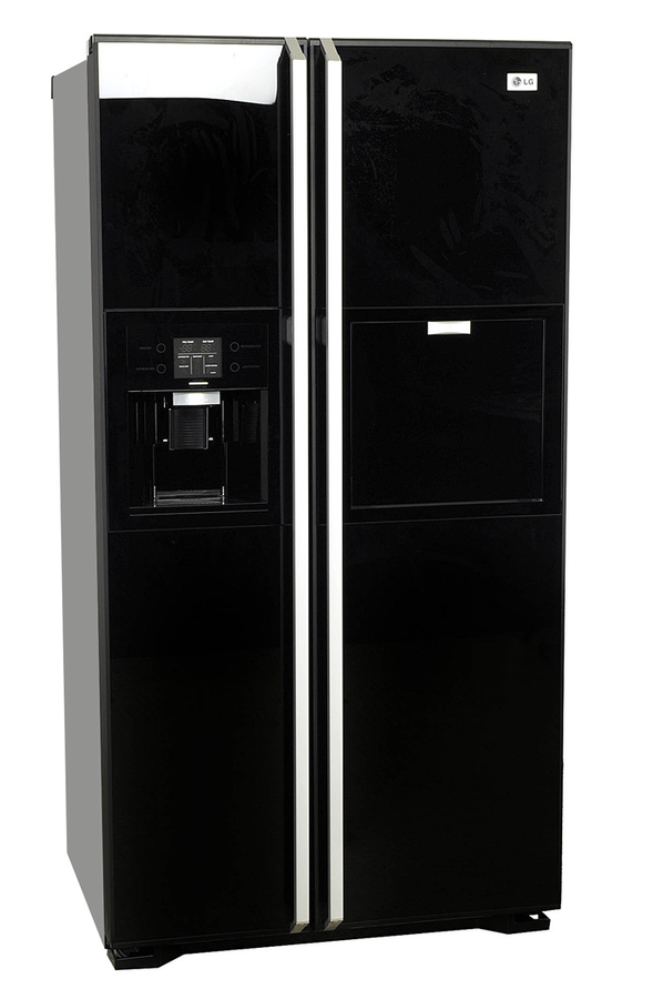 refrigerateur americain lg grp 2374 kgda noir grp2374kgdanoir 2501546 darty. Black Bedroom Furniture Sets. Home Design Ideas