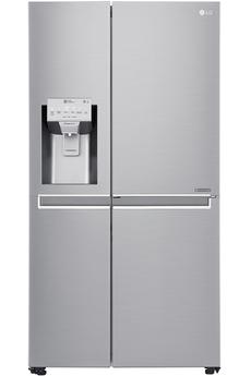 Volume 601 L - Dimensions HxLxP : 179x91,2x73,8 cm - A+ Réfrigérateur à froid ventilé 405 L Congélateur à froid ventilé 196 L Distributeur 3 fonctions - Door in Door