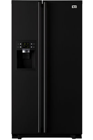 refrigerateur americain lg gwl2274ybqa noir darty. Black Bedroom Furniture Sets. Home Design Ideas