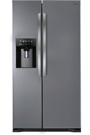 refrigerateur americain lg gwl2710ps inox gwl2710ps inox platine darty. Black Bedroom Furniture Sets. Home Design Ideas