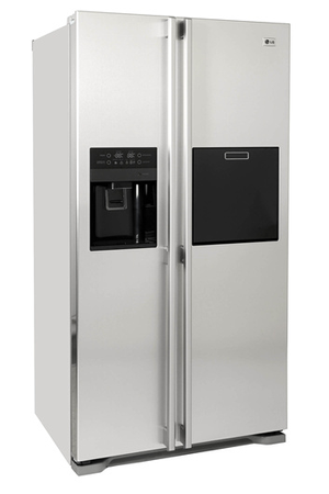 refrigerateur americain lg gwp 2227 acm inox darty. Black Bedroom Furniture Sets. Home Design Ideas