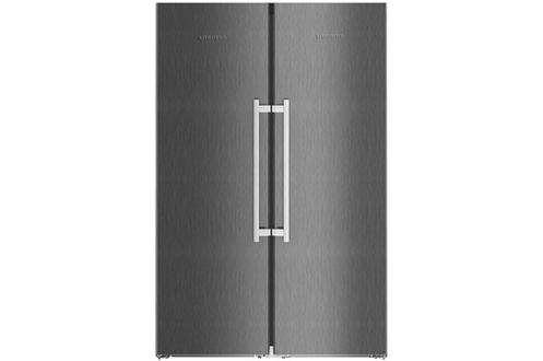 refrigerateur americain liebherr sbsbs8673 darty. Black Bedroom Furniture Sets. Home Design Ideas